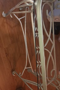 Entry glass table