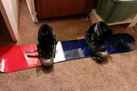 """PL Board, Rage boots and bindings never used """"go down in style"""""""
