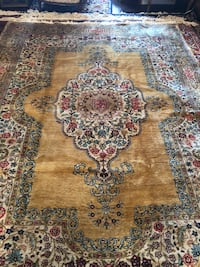 Antique handmade wool rug negotiable delivery available Toronto, M2R 3N1