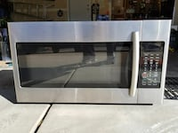 Over stove microwave