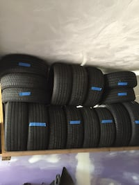 For sale is about 30 tires different sizes all in good condition 300 obo.