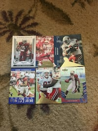 Cardinals football cards Westminster, 21158