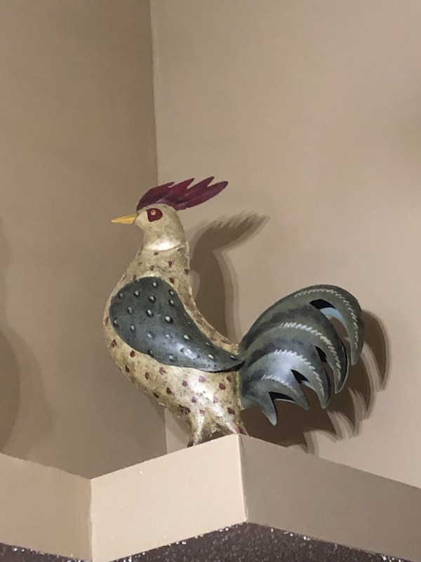 Decorative Roosters 10 Each