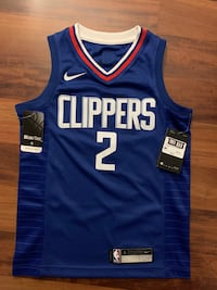 Clippers Kawahi Leonard Basketball Jersey - Authentic