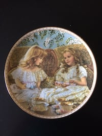 Best Friend Collection plate with plate stand