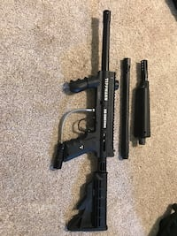 Paintball Gear! Upgraded Tippmann 98 Custom, Pinokio Loader, Ninja HPA, Accessories, Harness with pods! Springfield, 22153