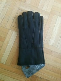 Leather with fur gloves - BRAND NEW    Toronto, M6B 2J3