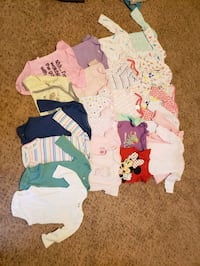 0-3, 3-6, and 3 month clothes Fredericksburg, 22406