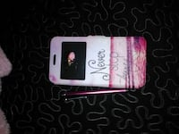 pink and white never stop loving flip phone case Fresno, 93706