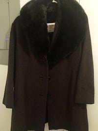 brown and black womens brushed peacoat Vancouver, V6G 2J3