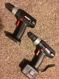 Lot of 2 Craftsmen power drills South Bend, 46615
