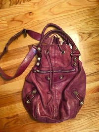 women's brown leather shoulder bag East Rutherford, 07073