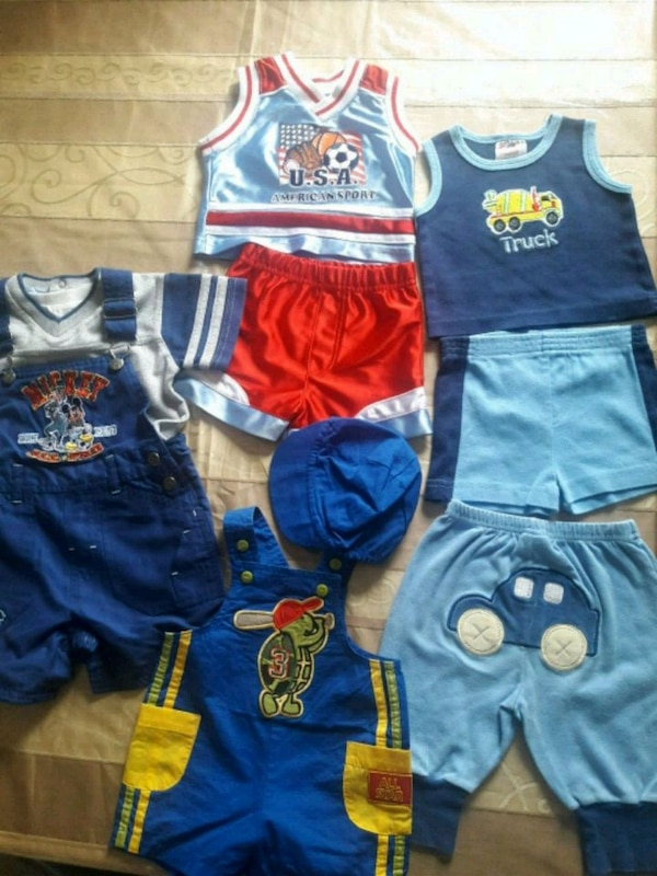 Baby boy clothing size 3/6 months