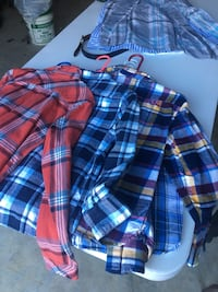 Boys flannel shirts size 8 to 12 are Monroe Township, 08831