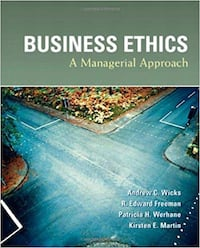 Business Ethics A Managerial Approach PDF
