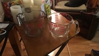 1000 ml 1 Fire king , 1 Pyrex  each Edmonton, T5Y