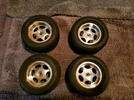 Aluminum rc monster truck wheels