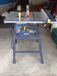 Mastercraft 10 inch table saw with stand Central Okanagan, V4T 2S5
