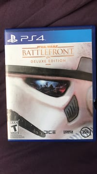 Sony PS4 Star Wars Battlefront game case Los Angeles, 90023
