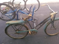 blue and green cruiser bike Oklahoma City, 73107