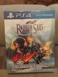 Rainbow Skies Limited Edition PS4 game  Langley, V2Y 1B5