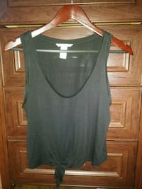 H&M black knotted cropped top San Jose, 95125
