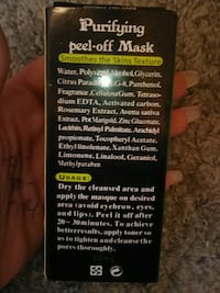 Purifying peel off charcoal mask-NEW