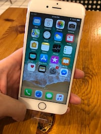 Iphone 6s 128gb rose gold like new condition