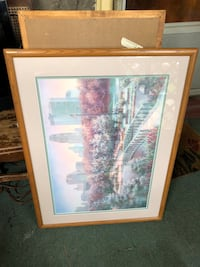Framed artwork of New York City / Central Park  Brooklawn, 08030