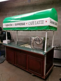 Cappuccino Cart + Espresso Machine Burnaby, V5G 1H3