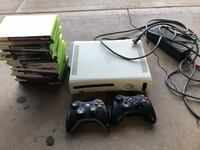 Xbox 360 w/ 2 wireless remotes and 16 games Spring Valley, 91977