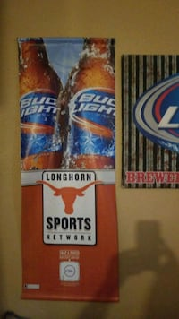 red and blue Bud Light beer can San Antonio, 78207