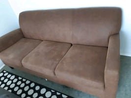 Brown IKEA Sofa
