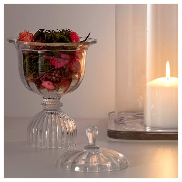 Potpourri in glass cup (NEW)