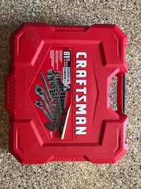 Craftsman Gunmetal Chrome 81 Piece Set