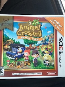 Nintendo 3DS Selects Animal Crossing game box