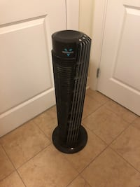 Black and gray tower fan Alexandria, 22314