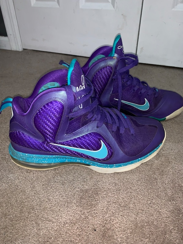 c76c0f047991 Used Lebron 9 Summit Lake Hornets Size 11 for sale in Saddle Brook - letgo