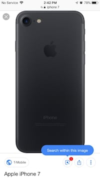 Space gray iphone 7 in great condition  Silver Spring, 20904