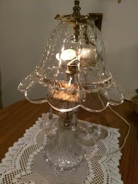Lovely Antique Crystal Lamp