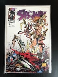 Spawn 9 Comic Book (First appearance of Angela!!) Mississauga, L5B 0H3