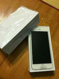 silver iPhone 6 with box United States