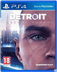 DETROIT BECOME HUMAN PS4  Barcelona