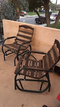 outdoor giliding rocking chair set Bakersfield, 93301