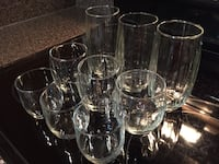 9 brand new glasses-3 small, medium, large. all brand new, never used McLean