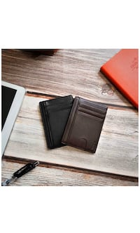 Leather card holder