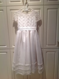 Flower girl/ Communion dress Size 14 girls) Worn twice! Montréal, H1M 3G5