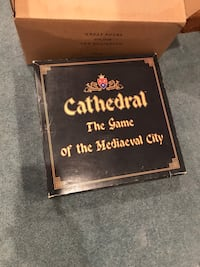 Cathedral medieval city vintage board game NEW IN BOX Mississauga, L5J