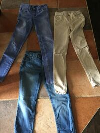 11 paires jeans 00 zara/American eagle