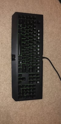 Razer - Blackwidow Ultimate (Green LED) 2014 Gaming Keyboard